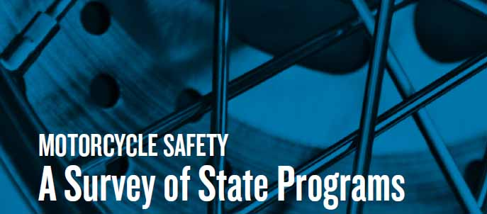 Motorcycle Safety – A Survey of State Programs